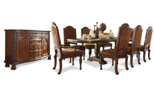 Grand Elegance dining with sideboard