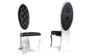 Salma black chair  11268