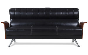 Boutique click clack sleeper couch