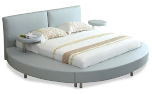 Round king bed - 17635