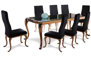 Cleopatra dining room suite