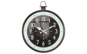 Black and white clock - 30960
