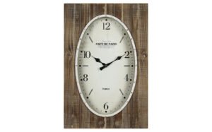 Cafe de Paris oval clock - 30959
