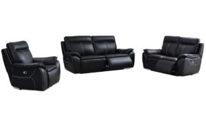 Ingrid 3pcs 5 motion electrical lounge suite - 18111
