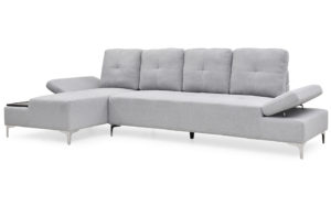 Winslet 3 Seater Light Grey - 19149