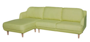2Pce Chaise Suite Green 8956