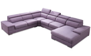 Layton U shapr corner suite-Purple 18165