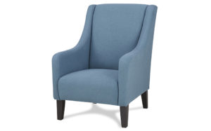 Novello wingback arm chair-Peacock blue 18193