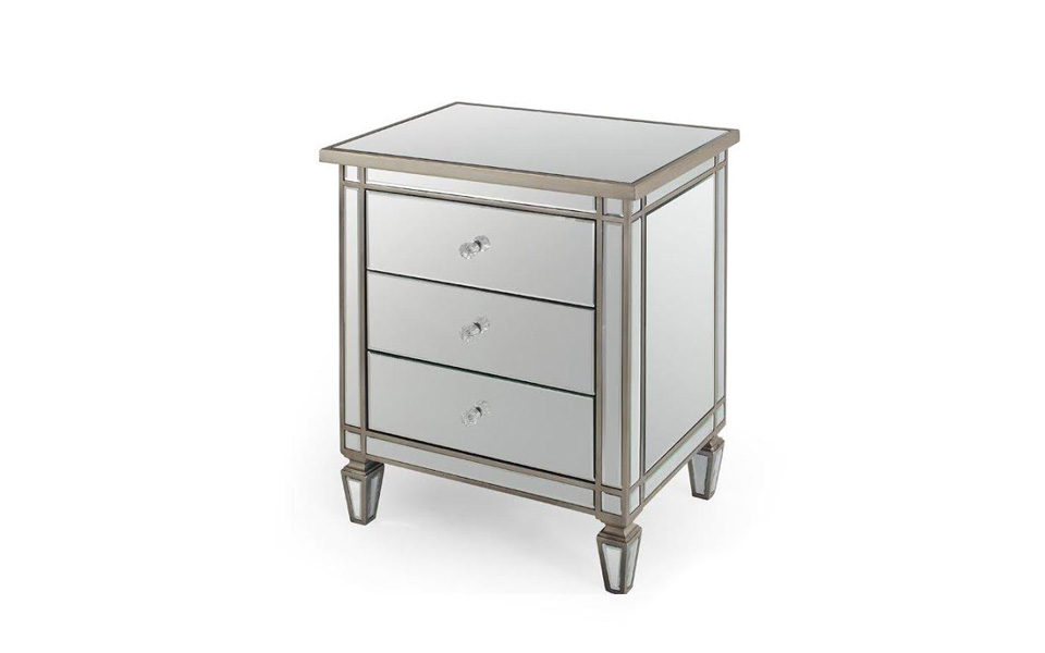 Benz Mirrored Pedestal United Furniture Outlets