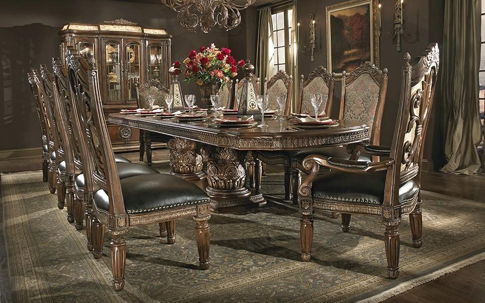 villa valencia dining room suite - united furniture outlets Dining Room Suites