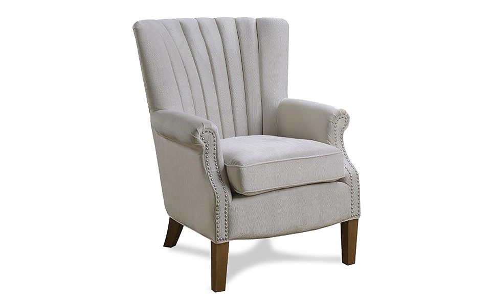 Shell occasional arm chair
