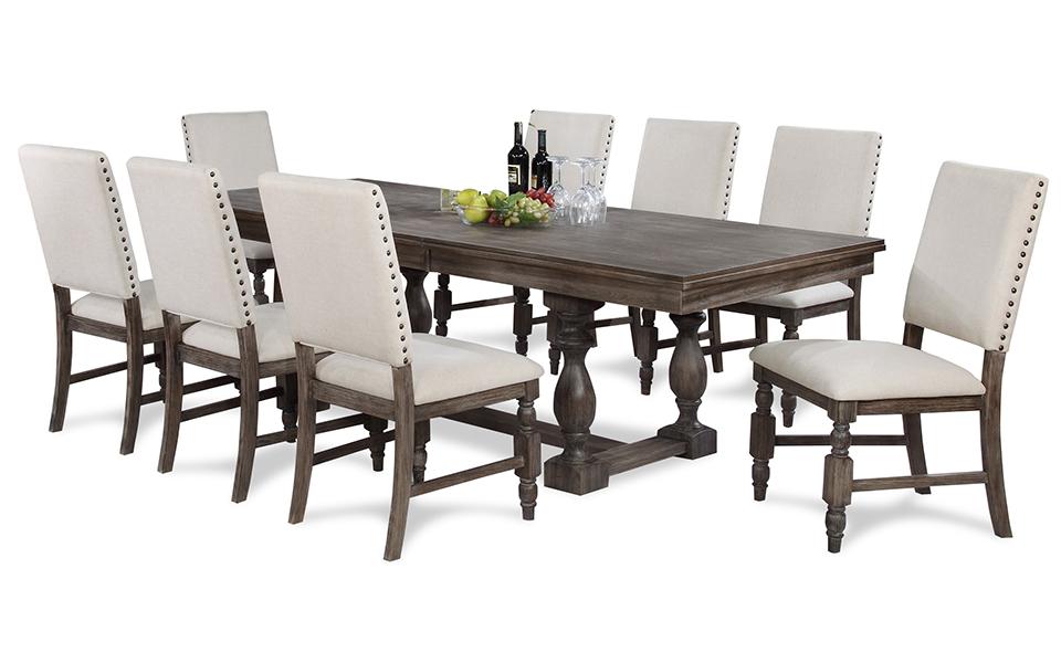 lyon dining room suite - united furniture outlets Dining Room Suites
