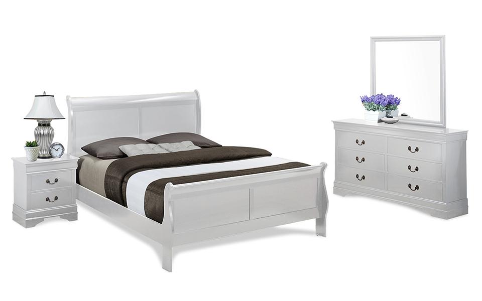 Louis phillipe bedroom suite