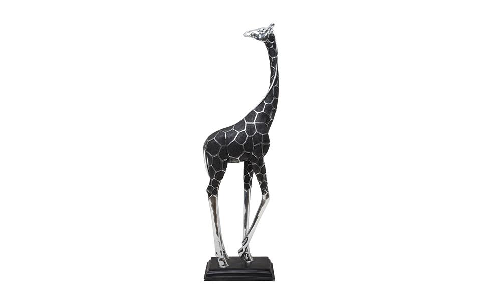 JAN81U1 Giraffe on plinth 91cm - 20042.jpg